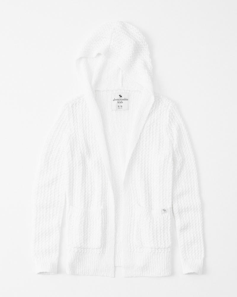 27037b408452 easy hooded cardigan