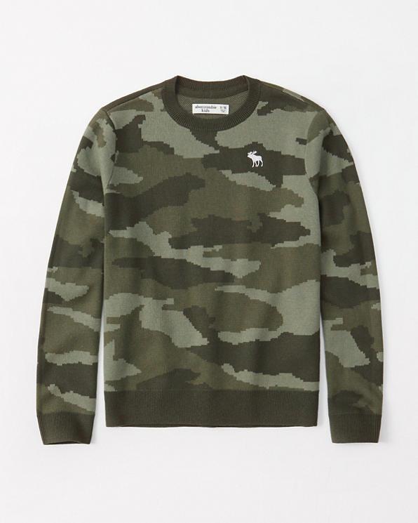 eb05f01e57c435 boys intarsia crew sweater | boys clearance | Abercrombie.com