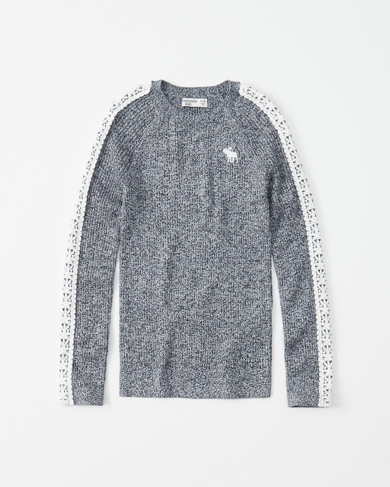 Slim Ribbed Sweater by Abercrombie & Fitch