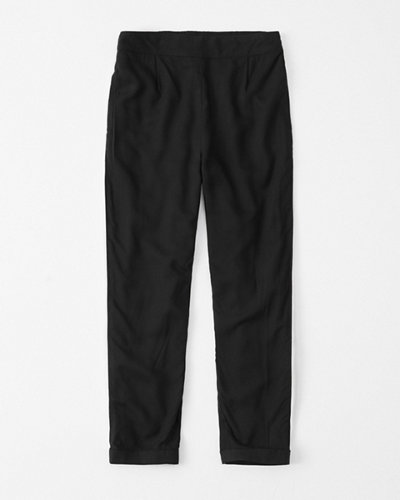 1716b78dc girls cropped side-stripe pants | girls clearance | Abercrombie.com