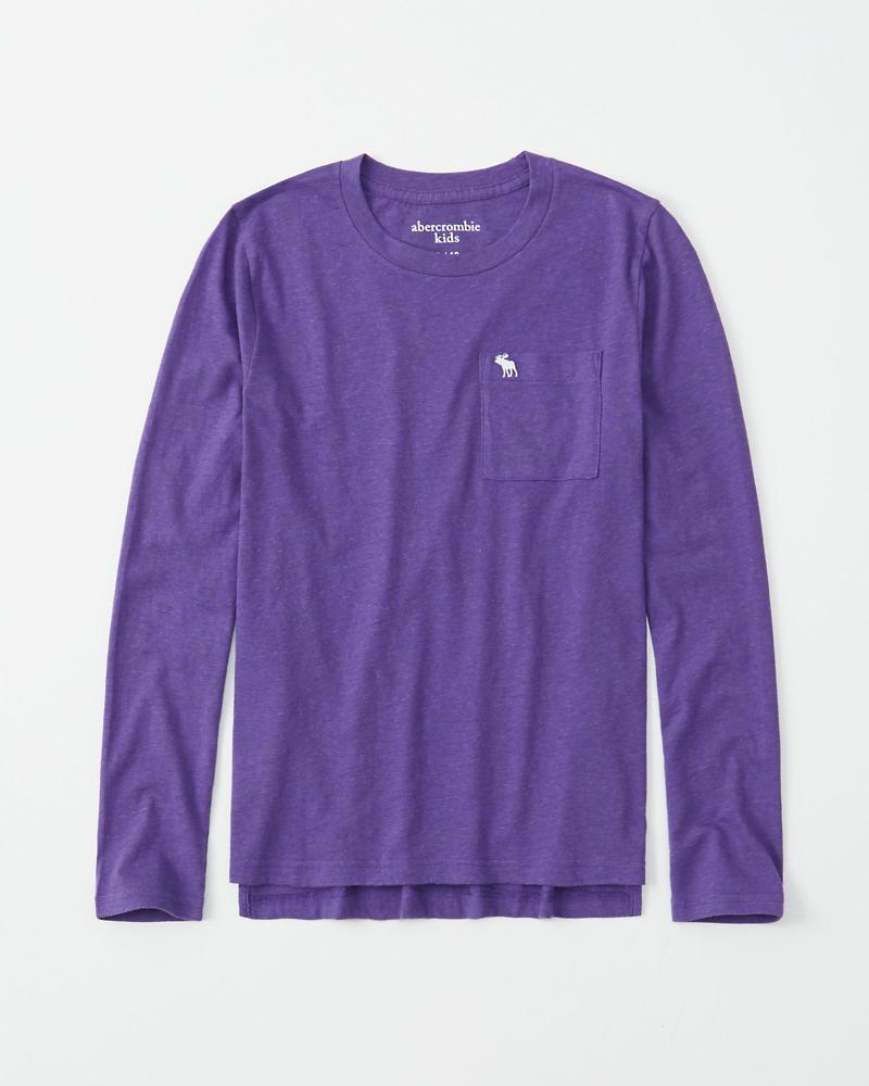 niños camiseta con bolsillo y teñido intercalado  719e44b0499f8