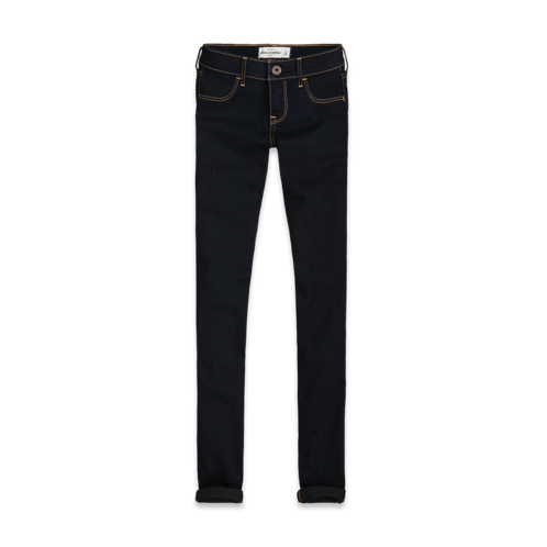 girls a&f all out stretch jeggings