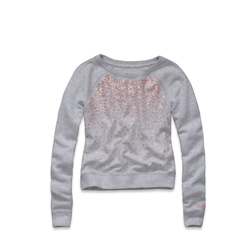 girls audrey shine sweatshirt