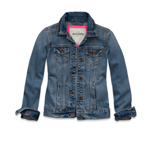 girls payton denim jacket