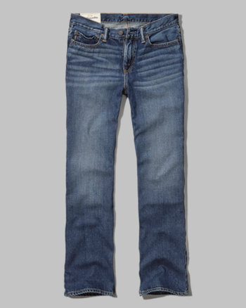kids a&f boot jeans