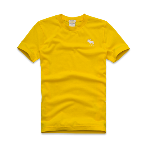 tops solid short sleeve crew tee