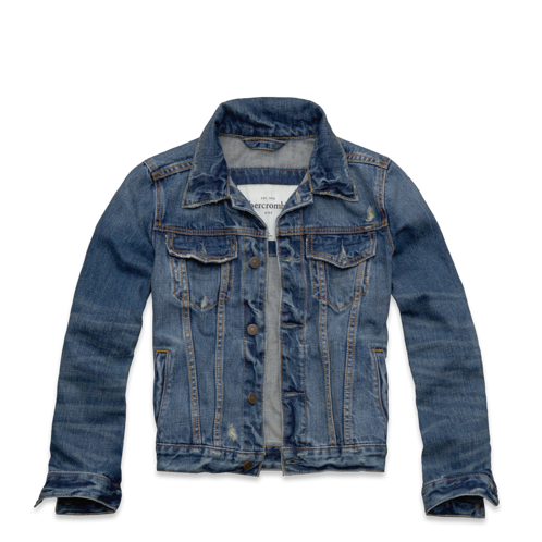 outerwear wolf pond denim jacket