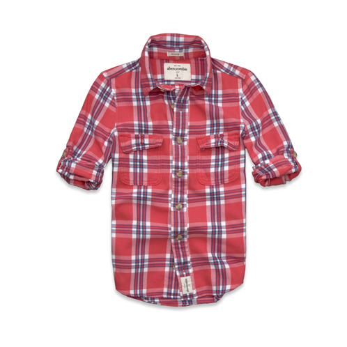 tops colden dam twill shirt