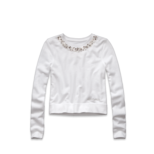 girls pamela shine sweatshirt