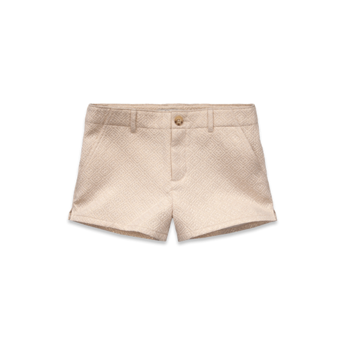 girls shine jacquard shorts