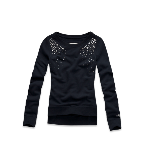 girls embellished sweatshirt