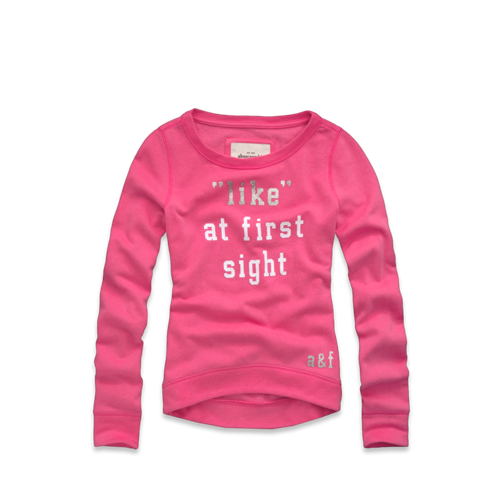 girls fun graphic sweatshirt
