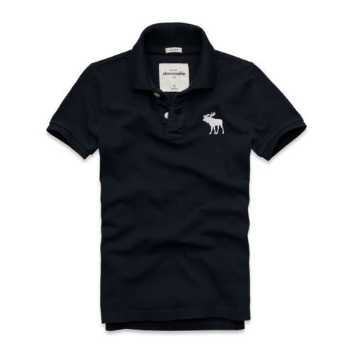 guys glow in the dark logo polo