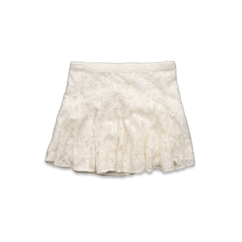 girls soft lace skirt