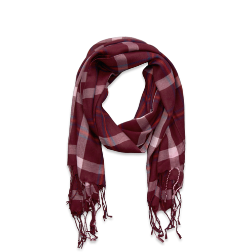 girls plaid scarf