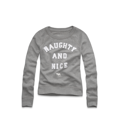 girls fun message sweatshirt