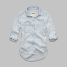 girls denim shirt