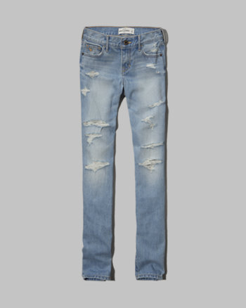kids a&f sophie skinny jeans