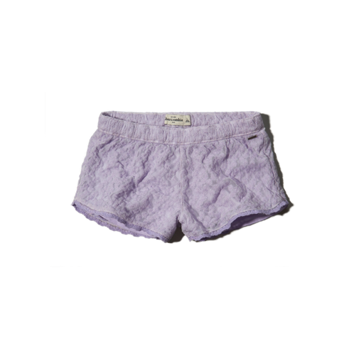 girls drapey mesh shorts