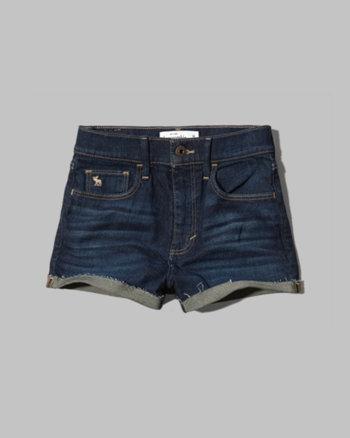 kids a&f natural waist shorts