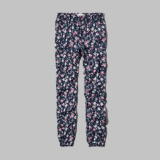 girls floral drapey pants