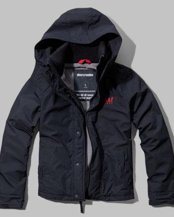 kids a&f all-season weather warrior jacket