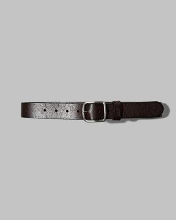 kids signature leather belt