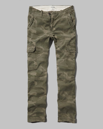 kids a&f cargo pants