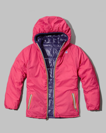 kids k-way with a&f milly thermo plus jacket