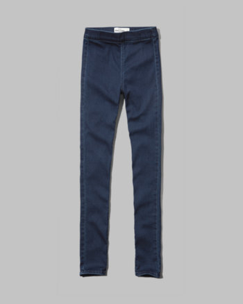 kids a&f ellie high rise jean leggings