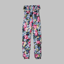 girls printed jumpsuit