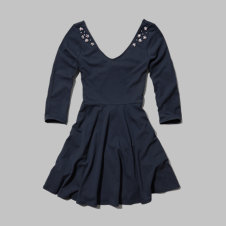 girls sparkle embellished skater dress