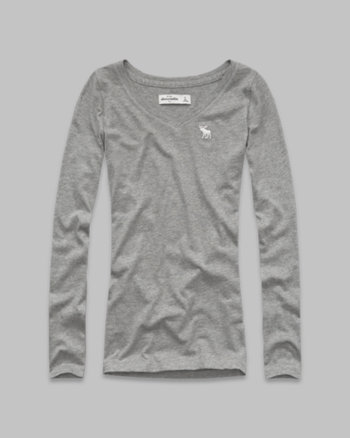kids long-sleeve solid tee