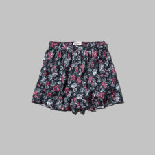 girls floral culottes