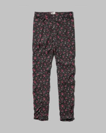 kids floral drapey pants