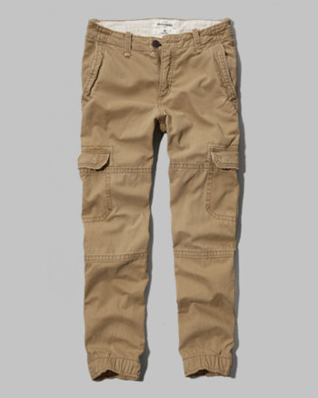 kids a&f cargo joggers