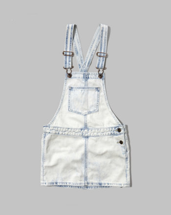kids denim skirtalls