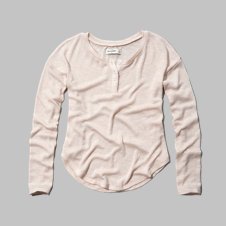 girls shine snit henley