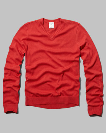 kids classic v-neck sweater