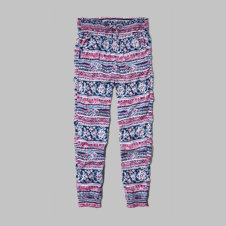 girls drapey jogger