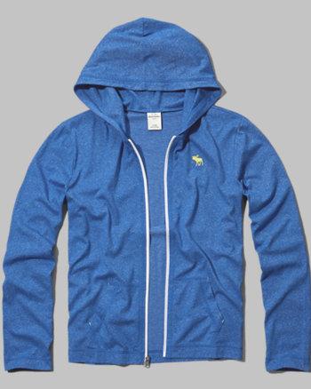 kids classic full-zip hoodie tee