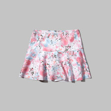 girls floral neoprene skirt