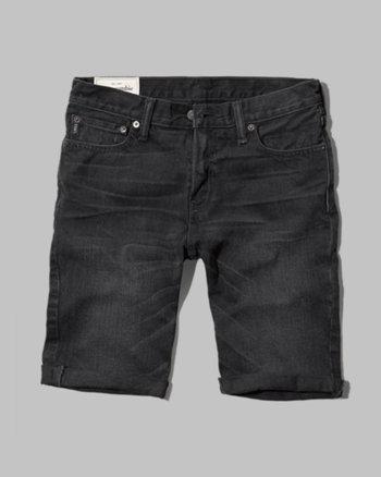 kids a&f jean shorts