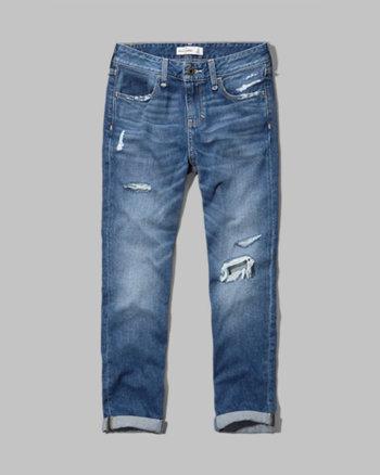 kids a&f eva boyfriend jeans