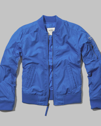kids aviator bomber jacket
