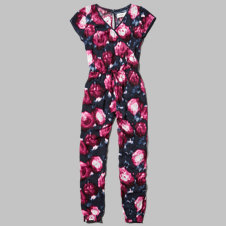 girls beautiful printed jumpsuit