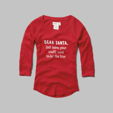 girls christmas sleep top