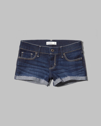 kids a&f low rise shorts