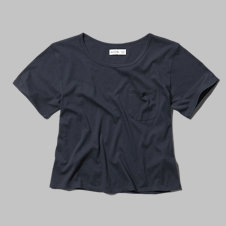 girls easy pocket tee
