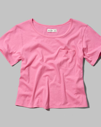 kids easy pocket tee